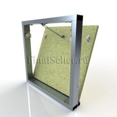 Люк под плитку со съемной дверцей (ШхВ) 50х50