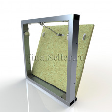 Люк под плитку со съемной дверцей (ШхВ) 60х60