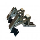 Скрытая петля Трансформер 155-79-52-190, Оц 2.0мм усиленная для напольного люка (без пружины), 1 шт.