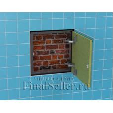 Конфигуратор подбора комплектующих для люка невидимки в стену своими руками